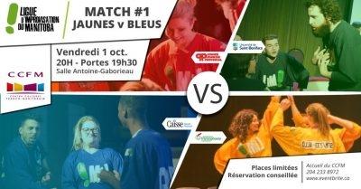 La LIM - Jaunes vs Bleus